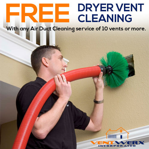 Free Dryer Vent Cleaning Specials