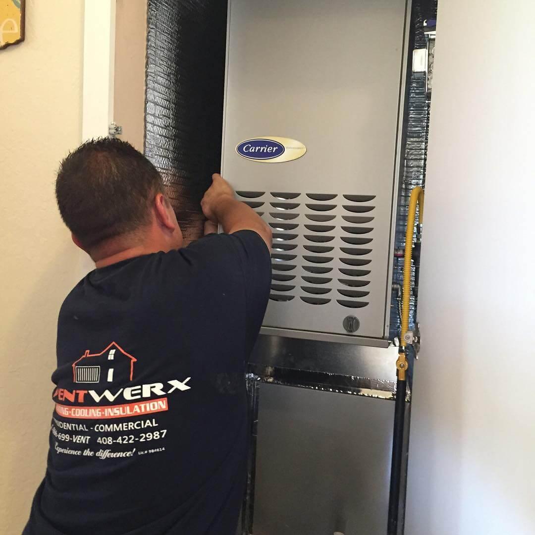 Furnace Repair San Jose Heating Repair Ventwerx Hvac