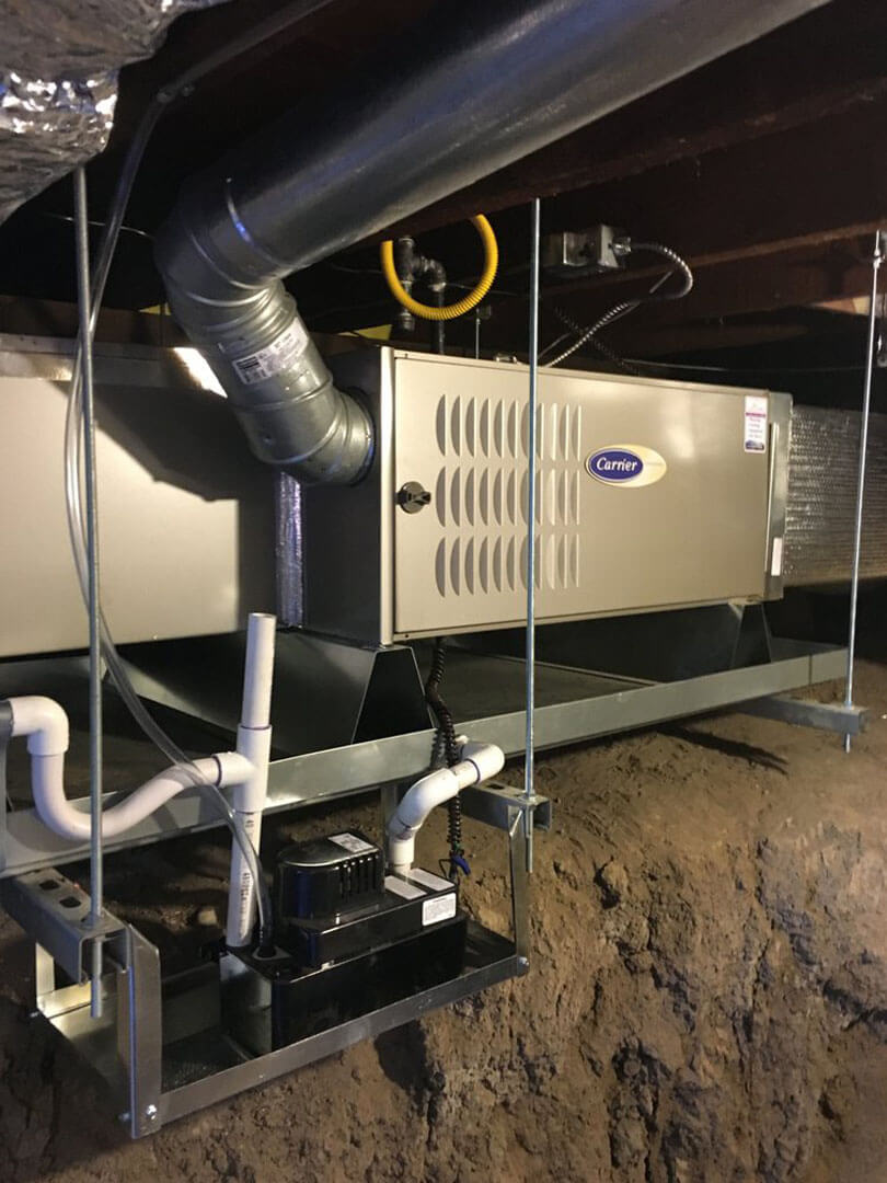 Residential furnace in San Jose