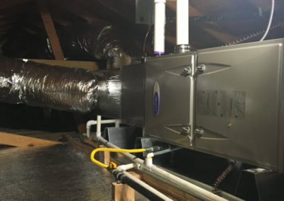 Carrier furnace in San Jose California home