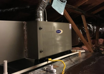Carrier furnace in San Jose home