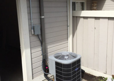 Carrier air conditioning unit in San Jose California