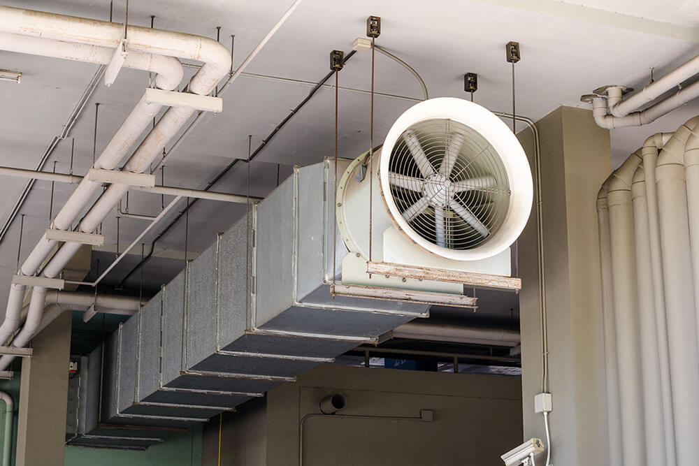 Good Air Quality With Proper HVAC Ductwork