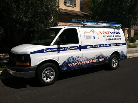 Ventwerx van - HVAC in San Jose